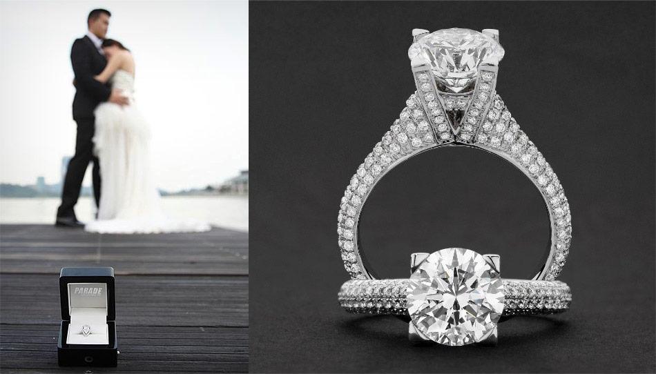 Buy Diamond Engagement Rings Sydney Parade Jewellers